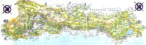 carte plage montenegro
