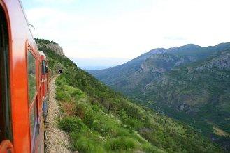 Train au Monténégro
