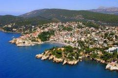 Ulcinj Montenegro, près de l'Albanie, Ada Bojana, Velika plaza, lac Skadar