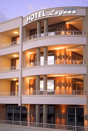 hotel ulcinj montenegro Laguna